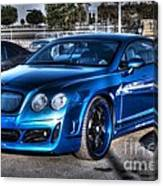 West Coast Bently Cgt Canvas Print