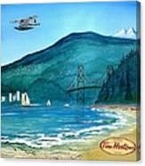 West Coast Dream Canvas Print