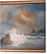 West Coast Seascape Canvas Print