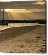 West Mersea Beach Canvas Print