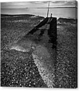 West Mersea Sea View Canvas Print