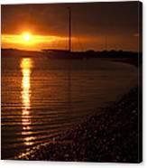 West Mersea Sunset Canvas Print