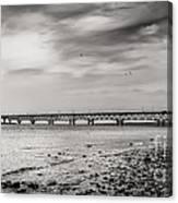 West Of Mackinac Bridge Canvas Print