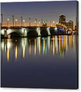 West Palm Beach At Night Canvas Print