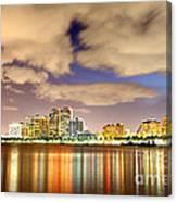 West Palm Beach Canvas Print