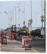West Pier Howth Canvas Print