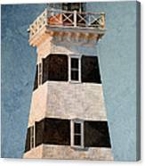 West Point Lighthouse 7 Canvas Print