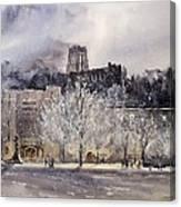 West Point Winter Canvas Print