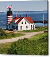 West Quaddy Lighthouse Canvas Print