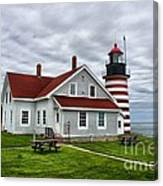 West Quoddy 4216 Canvas Print