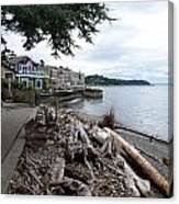 West Seattle Front Yard Canvas Print