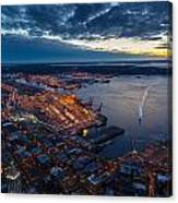 West Seattle Water Taxi Canvas Print