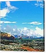 West Sedona Canvas Print
