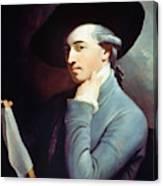 West Self-portrait Canvas Print
