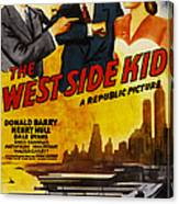 West Side Kid, Us Poster, From Left Don Canvas Print