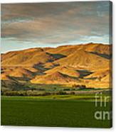 West Side Of Squaw Butte Canvas Print