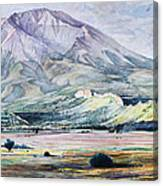West Spanish Peak Canvas Print