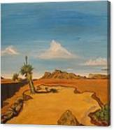West Texas Canvas Print