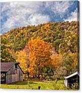 West Virginia Barns  Canvas Print