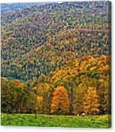 West Virginia High Canvas Print