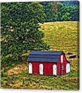 West Virginia Oil Canvas Print