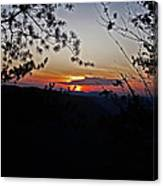 West Virginia Sunset 2 Canvas Print