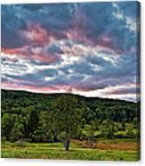 West Virginia Sunset II Canvas Print
