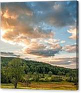 West Virginia Sunset Canvas Print