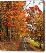 West Virginia Wandering Canvas Print