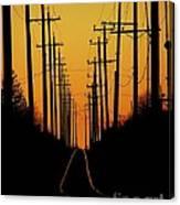 Westbound Canvas Print