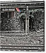 Westbound Track At Glen Ridge Station Canvas Print