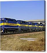 Westbound Train Canvas Print
