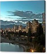 Westend Vancouver Canvas Print