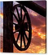 Western Gate Canvas Print
