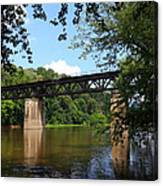 Western Maryland Railroad Crossing The Potomac River Canvas Print