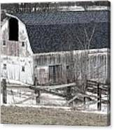 Western New York Farm 1 Canvas Print
