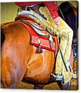 Western Pleasure Canvas Print