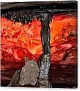 Western Sunset Canvas Print