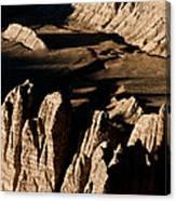 Western Tibet Geology Canvas Print