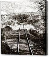 Western Tracks Canvas Print