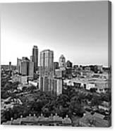 Western View Of Austin Skyline Canvas Print