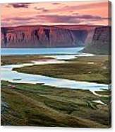 Westfjords Canvas Print