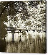 Westhamption Lake -2 Canvas Print