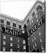 Westin Poinsett Behind S.main And E.court St Canvas Print