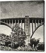 Westinghouse Bridge Pano Canvas Print