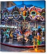 Westlake Carousel Canvas Print