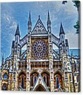 Westminster Abbey - North Transept Canvas Print