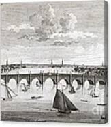 Westminster Bridge, London, Canvas Print