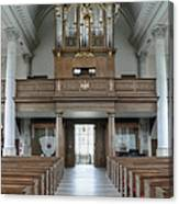 Westminster College Chapel Canvas Print