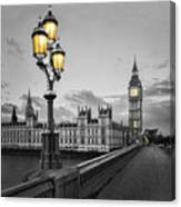 Westminster Morning Canvas Print